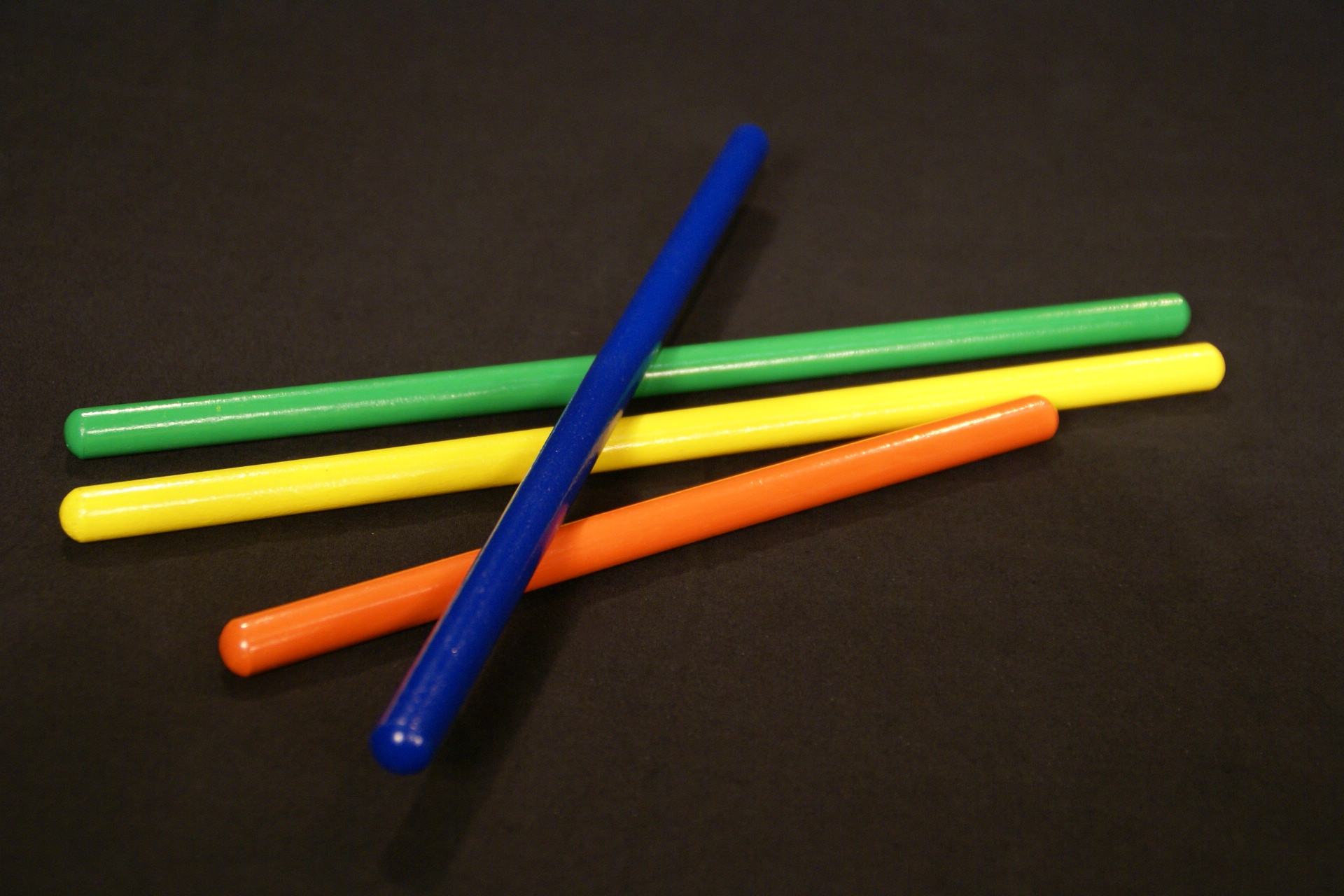 Small Colored Wooden Dowels